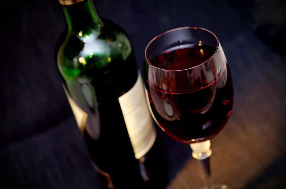 vin avec agneau